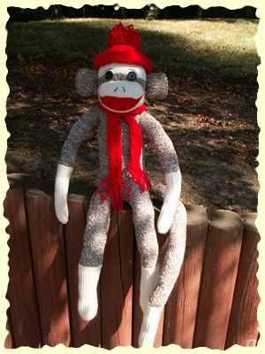 Knitting Patterns For Sock Monkey Clothes : Sock Monkey Fun! Goodies